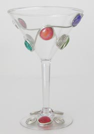 Martini Glasses - Poly - (Set of 4)